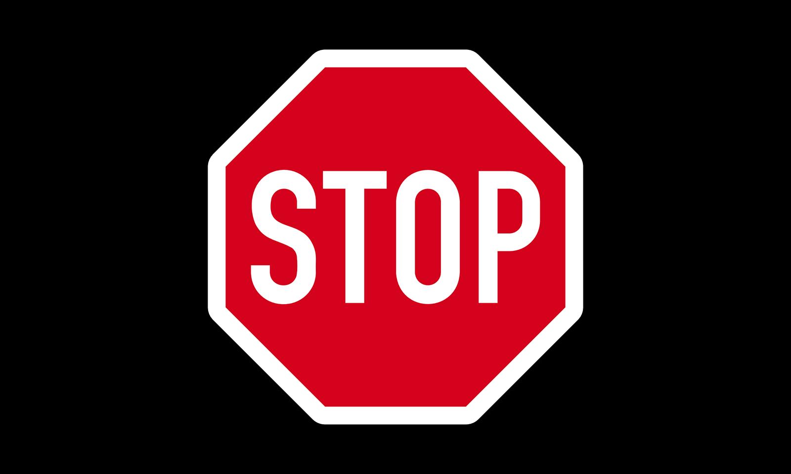 Wie müssen Sie sich bei diesem Verkehrszeichen verhalten