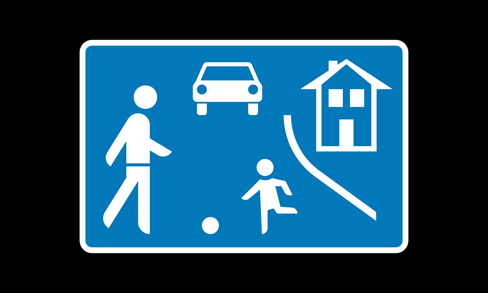 Was gilt nach diesem Verkehrszeichen? (Frage-Nr. 1.4.42-140)