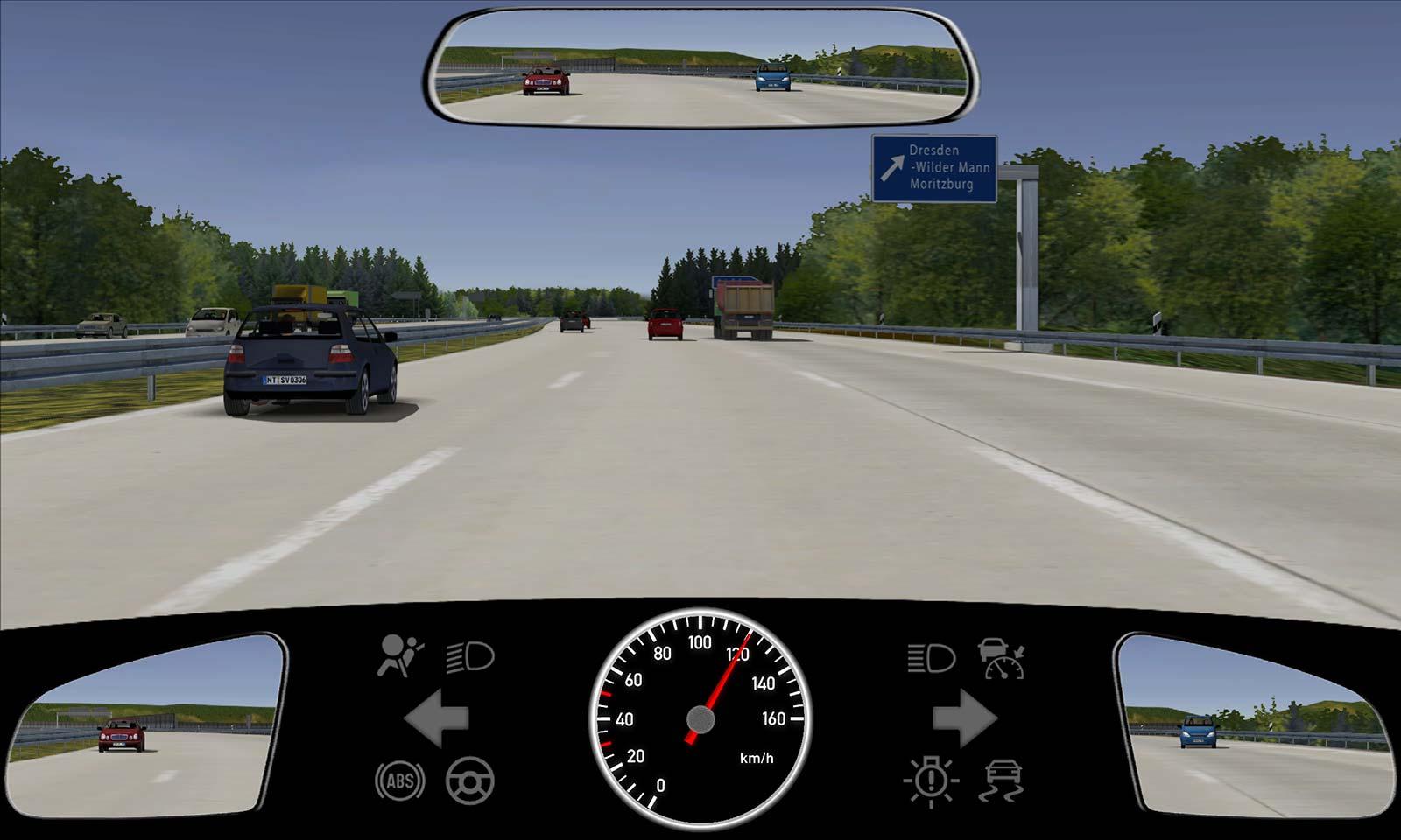 Rechts überholen Auf Der Autobahn